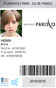 carte etudiant paris